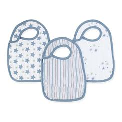 bib-muslin-snap-blue-star-stripe