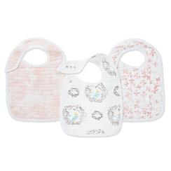 bibs-muslin-snap-bird-nest-pink-flowers