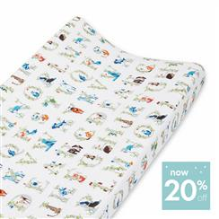 changing-pad-cover-muslin-animal-bear