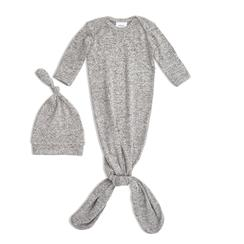snuggle-knit-knotted-gown-hat-set-grey