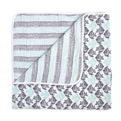 muslin-baby-blanket-grey-aqua-dots-fish