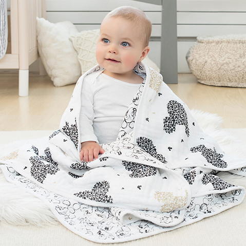 mickey mouse - muslin baby collection
