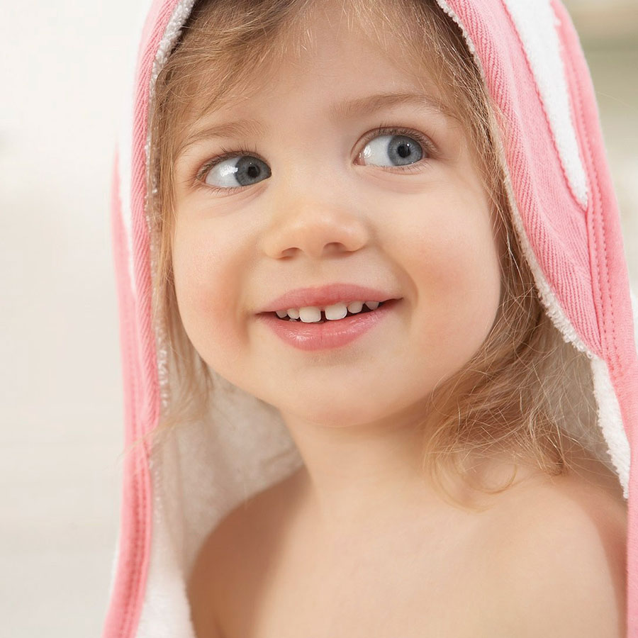 anais Muslin Hooded Towel /& Washcloth Set Bathing Beauty aden