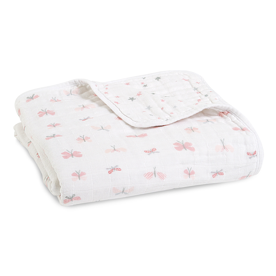 Lovely reverie butterflies classic dream blanket